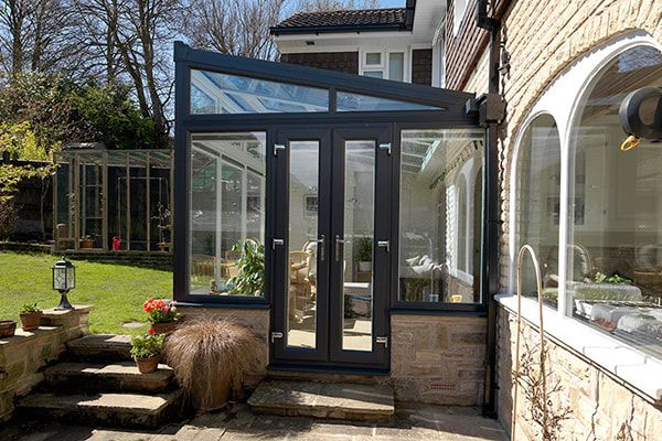Small conservatory side view