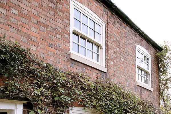 Upper uPVC Window