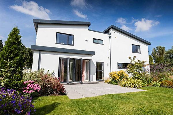 uPVC Windows in a detached house
